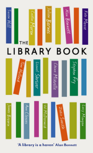 """Front cover: """"The Library Book"""""""